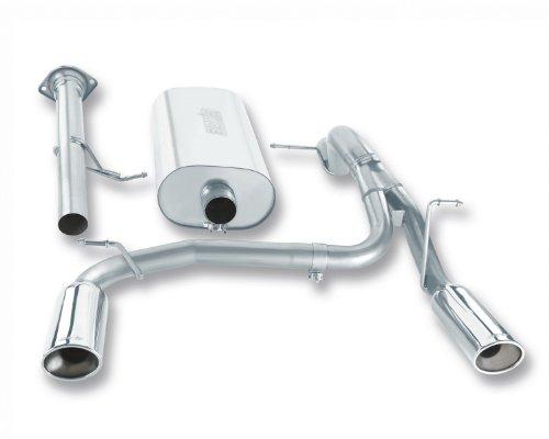 Borla 140258 Cat-Back Exhaust System - H2 SUV/SUT07-08 V8 (Hummer Rear Exhaust System)