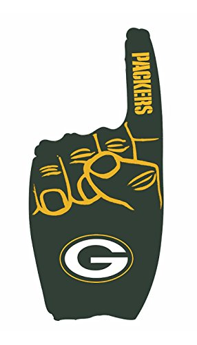 Pro Specialties Group NFL Green Bay Packers Inflatable 1 Finger, Green, Onse Size