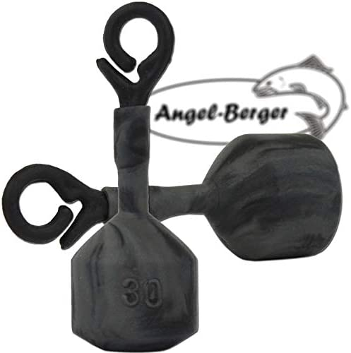 Angel Berger Back Lead Schnurabsenker Line Sinker 40g