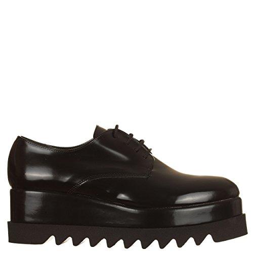 VialeScarpe de Chaussures EU Noir Lacets 40 à Ville Noir pour Femme Noir ZZqdRr5wx