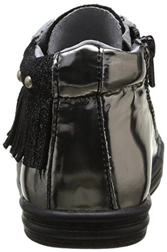 Minibel Mädchen Lansas Schnürhalbschuhe Schwarz - Noir (67 Paillette Noir/Acier)