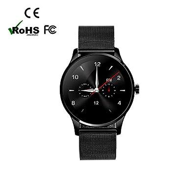Smartwatch Bluetooth Reloj Inteligente Reloj Deportivo con Contador de Calorias/ Monitor de Sueño/ Mensaje