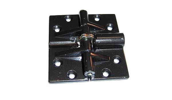 Double Lock Bi-Fold Hinge,Dark Brown 2-1//2 X 2-1//2