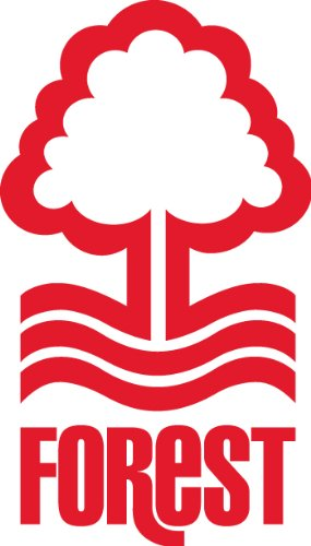 Nottingham forest fc wall sticker notts football club 28 red 470mm x