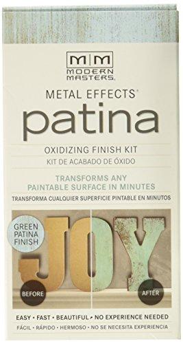 0 2 oz. Metal Effects Patina Oxidizing Finish Kit, Green ()