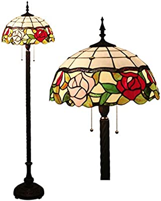 Amazon Com Tiffany Style Floor Lamps European 16 Inch Living Room