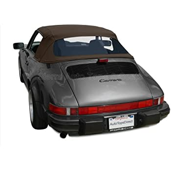 amazoncom bmw z3 convertible top. Porsche 911 Convertible Top 1983-94 In Brown Twillfast II Cloth With Zippered Plastic Window Amazoncom Bmw Z3