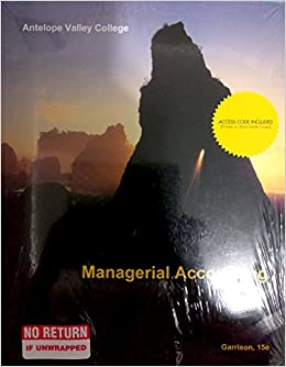 Financial And Managerial Accounting 15th Edition Pdf