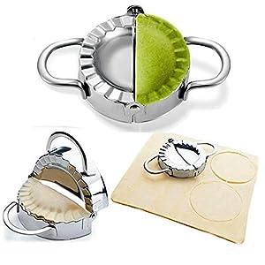 BellaBetty Dumpling Maker – Dumpling Press/Stainless Steel Empanada Press/Pie Ravioli Dumpling Wrappers Mould Kitchen…