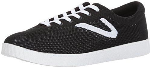 Sneaker In Maglia Nera Da Uomo In Trilé Di Nyliteknit