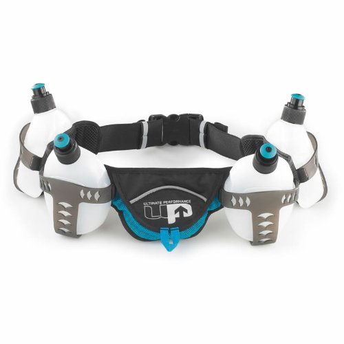 Aira Force 4 Nutrition Belt Belt/Water Bottle Holder - Perfect For Running 300ml by Physio Room