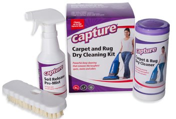 Capture Dry Carpet Cleaning Total Care Kit - Milliken Chemical
