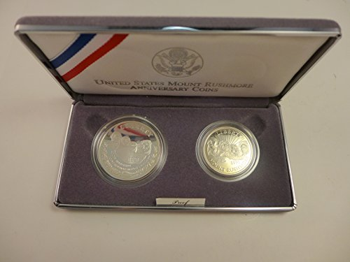 - 1991 S Mount Rushmore National Memorial Two Coin Proof Set