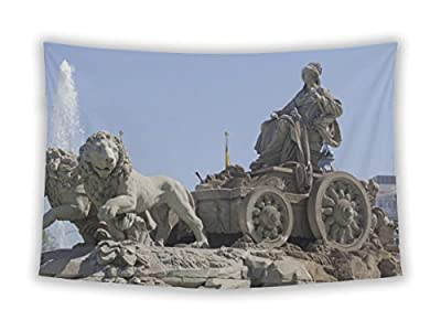 Gear New Wall Tapestry For Bedroom Hanging Art Decor College Dorm Bohemian, Cybele Fountain