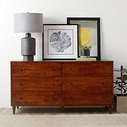 . Amazon com  Modern Farmhouse Double Dresser Provides Classic Style