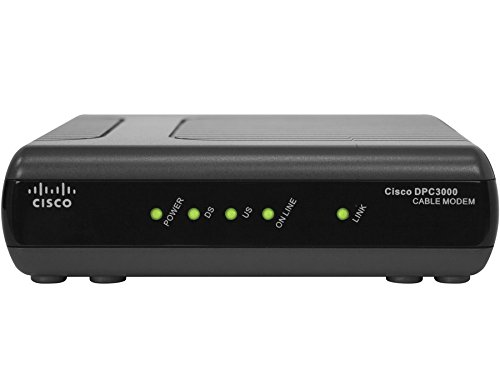 Cisco DPC3000 DOCSIS 3.0 Cable Modem Cisco Systems Inc