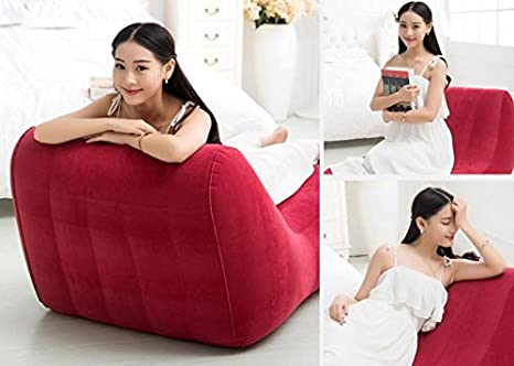 SIZLL Lazy people creative leisure fun chairs increase s-siesta sofa chairs inflatable sofa inflatable sofa bed