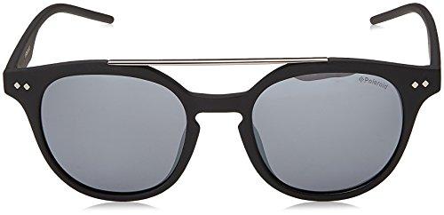 de Unisex S Sol Matt Silmir Pz Gafas 51 JB Adulto 1023 PLD Polaroid Grey Negro Black DL5 8qY44U
