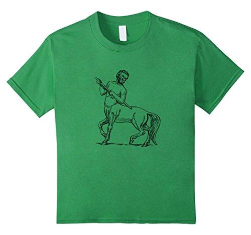 Kids Centaurus Centaur Mythology Half Man Horse Tee Gifts T Shirt 10 Grass