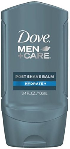 Post Shave Face Balm (Dove Men+Care Post Shave Balm, Hydrate 3.40 oz (Pack of 4))