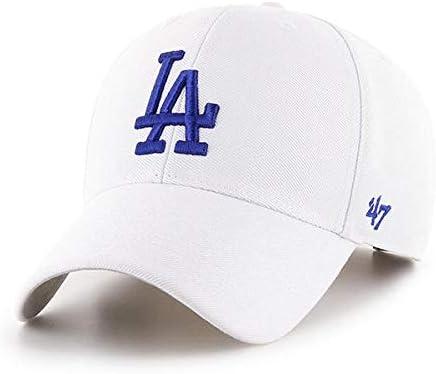47 Brand Los Angeles LA Dodgers MVP Hat Cap Black//Royal
