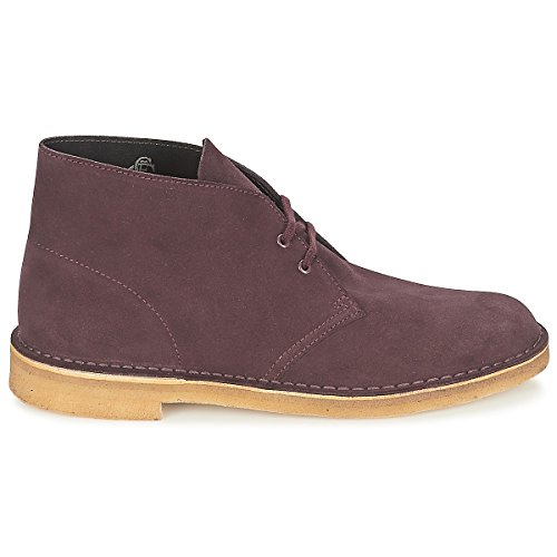 Clarks Originals Boot Suede wine Boots Homme Desert 39 Rot wzwgPCx