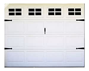Share Facebook Twitter Pinterest  sc 1 st  Amazon.com & FAKE WINDOW VINYL STICKERS FOR YOUR GARAGE DOOR CARRIAGE HOUSE STYLE ...