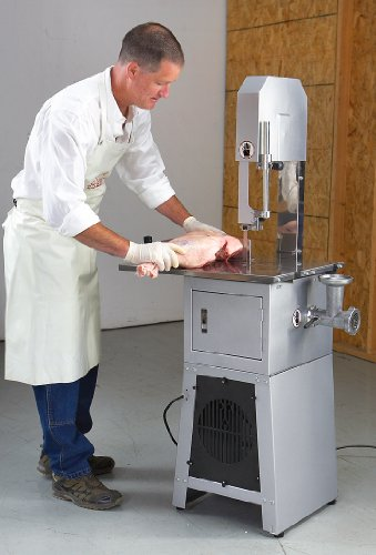 Professional Meat Cutting Band Saw with Built - in Grinder