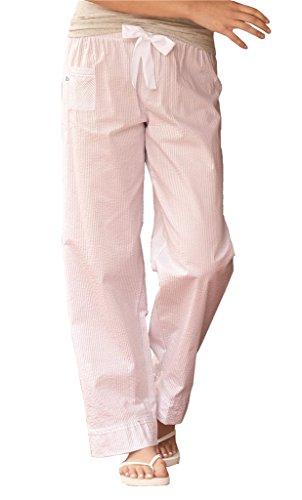 Seersucker Boxercraft - Boxercraft - VIP Womens Cotton Pinstripe Lounge Pajama Pants