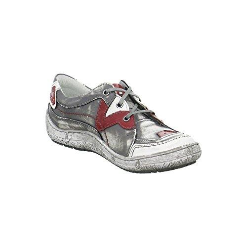 para Zapatos 4918560656729 de cordones mujer de 2 Gris Piel Kacper CnZxH5q0wH