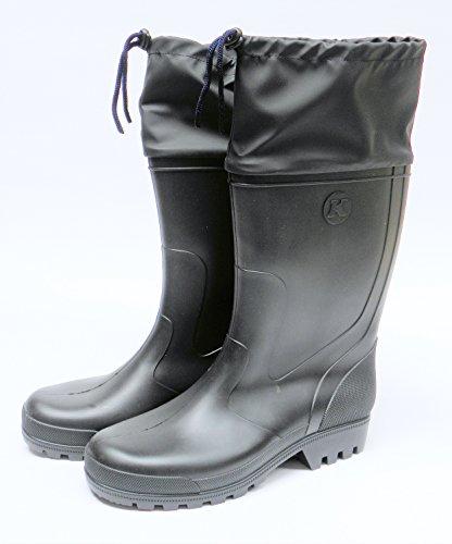 zur Gummistiefel 40 Regenstiefel 40 Größe bis 46 ab Schwarz Höhe Auswahl 46 cm vvqaW0Hr