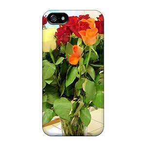 Case Cover Bouquet De Fleur/ Fashionable Case For Iphone 5/5s WANGJING JINDA