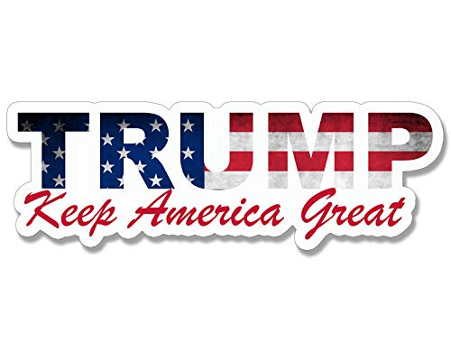 [해외]트럼프 미국 레터링 모양 유지 미국 큰 범퍼 스티커 (MAGA KAG 2020) / Trump USA Lettering Shaped Keep America Great Bumper Sticker (MAGA KAG 2020)