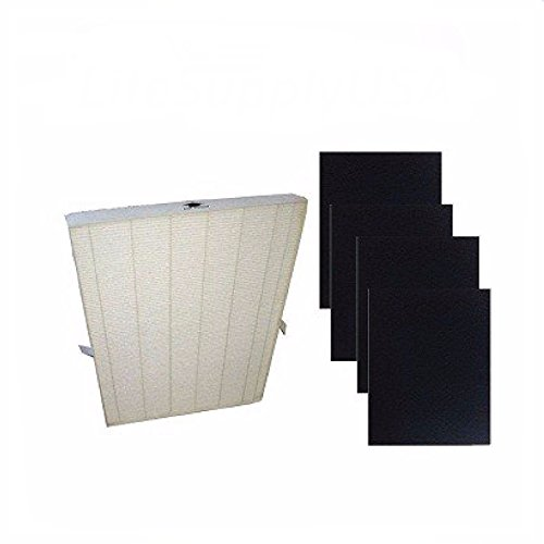 Details about True HEPA Plus 4 Replacement Filter for Winix (115115 5300 5500 6300 Size 21)