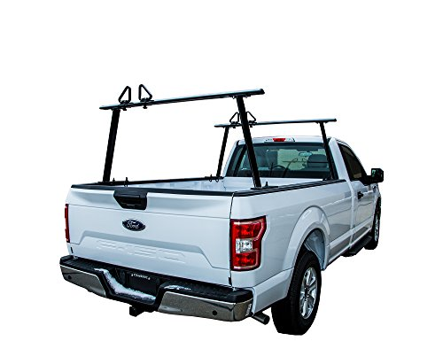 Buyers Products 1501680 Black Aluminum Truck Rack