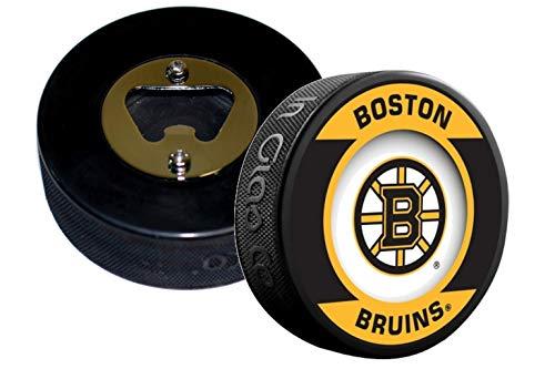 EBINGERS PLACE Boston Bruins NHL Retro Series Hockey Puck Bottle Opener (Bottle Opener Retro)
