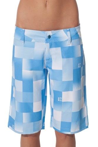 Ten-80 Womens Sandbar Boardshorts (01, Light Blue)