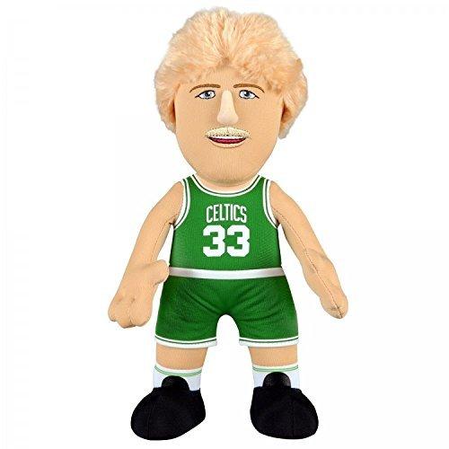NBA Boston Celtics Larry Bird Player Plush Doll, 6.5-Inch x 3.5-Inch x 10-Inch, Green