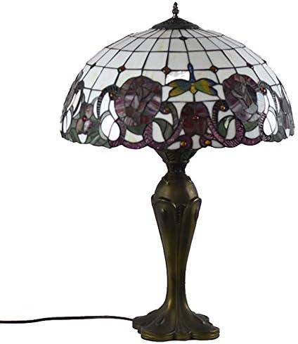 ZHAOTD Lámpara Tiffany Personalidad Europea Lámpara de Mesa de ...