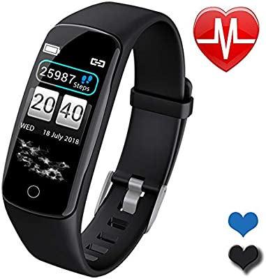 Fitness Trackers Women Smart Watch for Android iOS Phones Mothers Day Activity Tracker Watch with Heart Rate Monitor Waterproof Smart Fitness Band ...