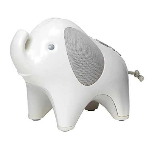 Skip Hop Moonlight & Melodies Nightlight Soother-Elephant, Multi