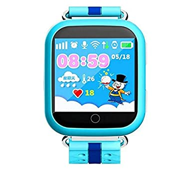 GPS reloj inteligente Kids Q750 Q100 lbs bebé reloj con WiFi Pantalla Táctil De 1.54 pulgadas llamada SOS dispositivo de localización Tracker para niño ...