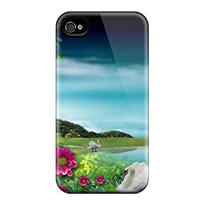 Protective Pchcase ETQ3684eIsF Phone Case Cover For Iphone 4/4s