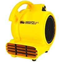 Shop Vac 1032000 AM 3 Speed Air Mover - 3 speed Air Mover for drying wet floors and carpets; 500 cfm; built in outlets to connect mult units; Gold color