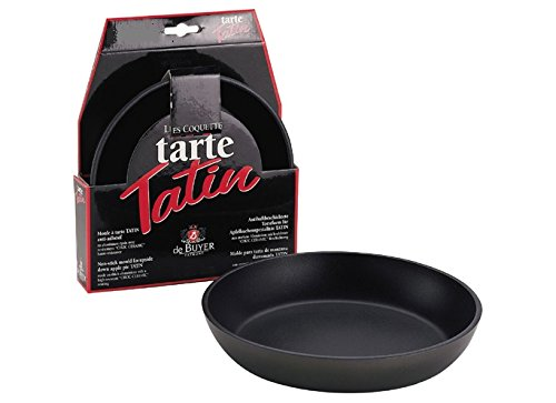 de Buyer Professional 32 cm Choc Extreme Ceramic Non-Stick Scratch Resistant Aluminum Tatin Mold for Tarts 8237.32