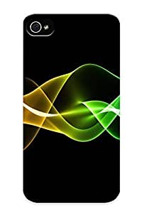 9526e713005 Blackducks Defender PC Hard Case Cover For Iphone 4/4s- Iphone And Neon Waves BY supermalls
