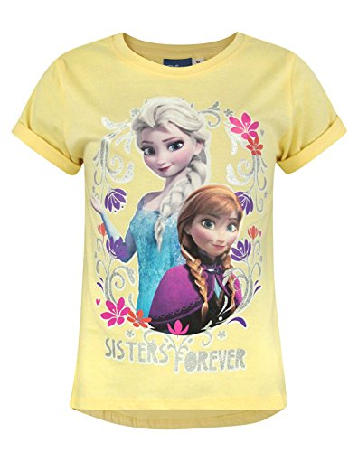 Official Frozen Sisters Forever Girl's T-Shirt (4 Years) ()