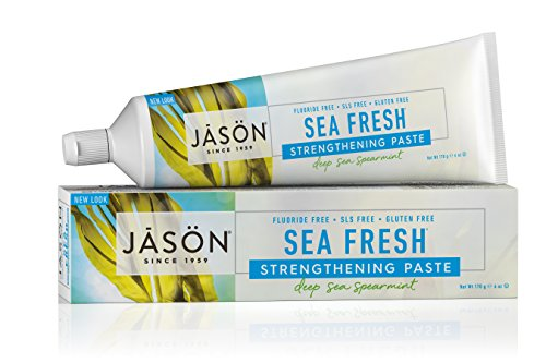 Strengthening Fluoride Free Toothpaste Spearmint Packaging product image