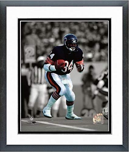 Walter Payton Action Framed Photo - Walter Payton Chicago Bears Spotlight Action Photo (Size: 12.5