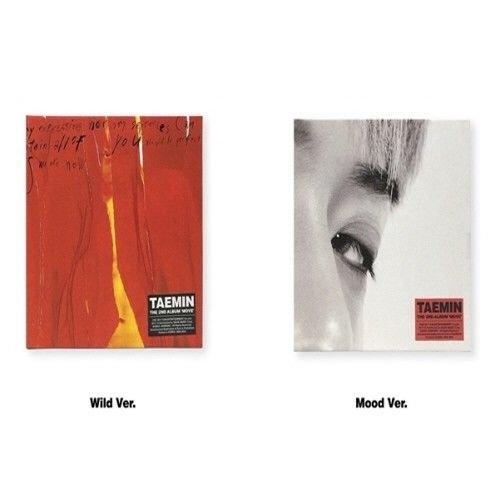Move Album - Shinee Taemin - [Move] 2nd Album Wild+Mood 2 Version SET CDs+Photobooks+PhotoCards+Poster K-POP Sealed